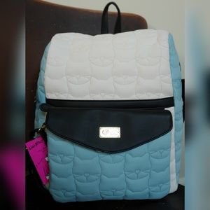 Luv Betsey Backpack/Crossbody Quilted Cat 2 for 1